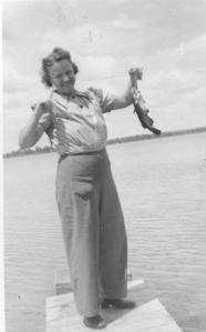 Grandma Fishes Too