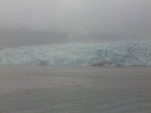 A Retreating Alaskan Glacier
