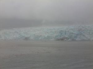 A Retreating Alaskan Glacier