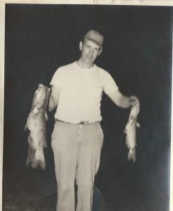 My first fishing friend- Grandpa Hessey