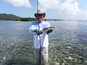 A Small Roatan Bonefish